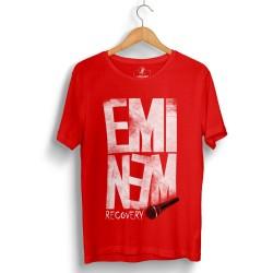 Groove Street - HollyHood - Eminem Recovery Kırmızı T-shirt