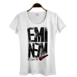 Groove Street - HollyHood - Eminem Recovery Beyaz Kadın T-shirt