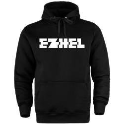 HH - Ezhel Tipografi Cepli Hoodie - Thumbnail