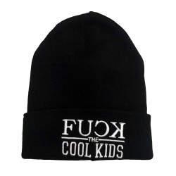 Fuck Cool Kids Siyah Bere