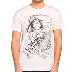 Bant Giyim - Fullmetal Alchemist Beyaz T-shirt - Thumbnail