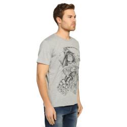 Bant Giyim - Fullmetal Alchemist Gri T-shirt - Thumbnail
