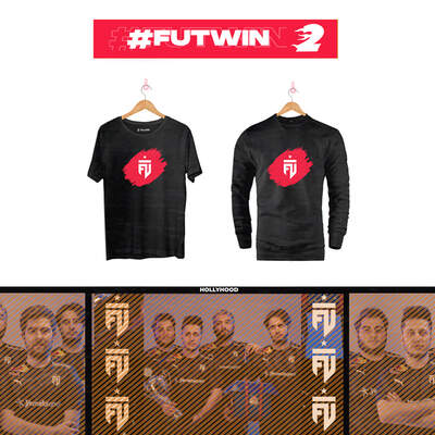 - FUTWIN Bundle-2 T-shirt + sweatshirt