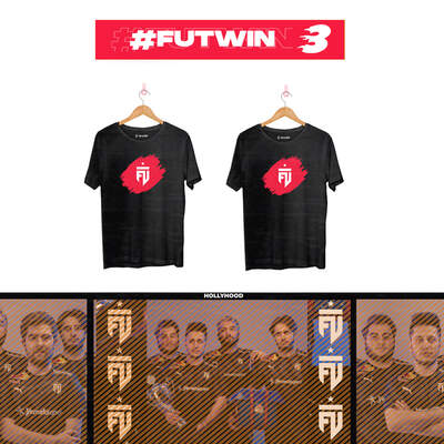 - FUTWIN Bundle-3 TwoT-shirt