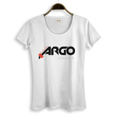 HH - Gazapizm Argo İzmir Kadın Beyaz T-shirt