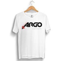 HH - Gazapizm Argo İzmir Beyaz T-shirt - Thumbnail