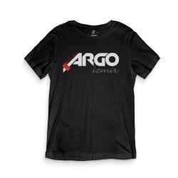 HH - Gazapizm Argo İzmir Siyah T-shirt - Thumbnail