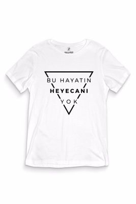 Gazapizm - HH - Gazapizm Heyecanı Yok Beyaz T-shirt