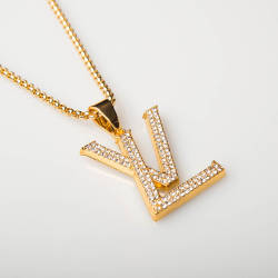 HollyHood - LV Gold Kolye