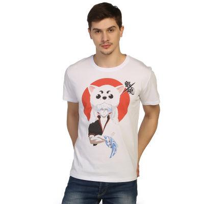Bant Giyim - Gintama Beyaz T-shirt