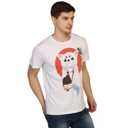 Bant Giyim - Gintama Beyaz T-shirt - Thumbnail