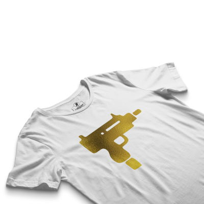 HH - Gold Uzi Beyaz T-shirt
