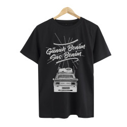 Eypio - HollyHood - Günah Benim Suç Benim Siyah T-shirt