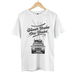 Eypio - HollyHood - Günah Benim Suç Benim Beyaz T-shirt