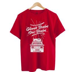 Eypio - HollyHood - Günah Benim Suç Benim Kırmızı T-shirt