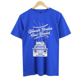 Eypio - HollyHood - Günah Benim Suç Benim Mavi T-shirt