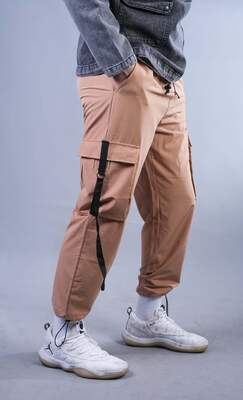 HH - Hardal Paraşüt Kumaş Jogger