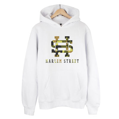 HollyHood - Harlem Street Beyaz Hoodie