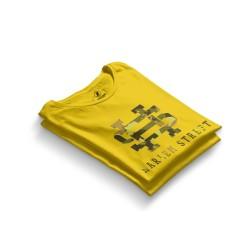 HH - Harlem Street Sarı T-shirt - Thumbnail