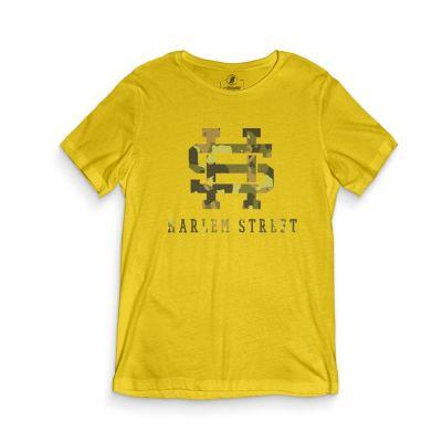 HH - Harlem Street Sarı T-shirt