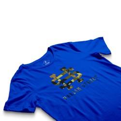 HH - Harlem Street Mavi T-shirt - Thumbnail