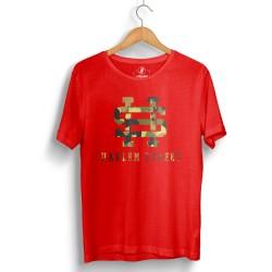 HH - Harlem Street Kırmızı T-shirt - Thumbnail