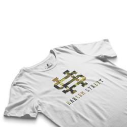 HH - Harlem Street Beyaz T-shirt - Thumbnail