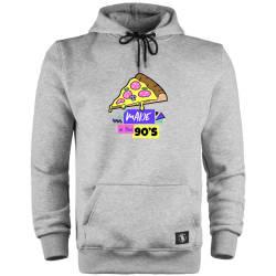 HH - 90's Pizza Cepli Hoodie - Thumbnail