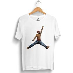 HollyHood - HH - Air Tupac Beyaz T-shirt (Seçili Ürün)
