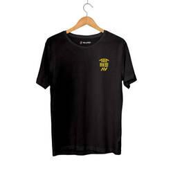 Outlet - HH - Allame Av Arma Siyah T-shirt(Fırsat Ürünü)