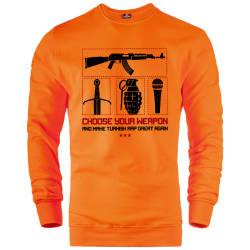 İndirim - HH - Allame Choose Sweatshirt (Fırsat Ürünü)