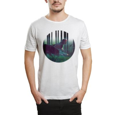 HH - Allame Gölgeler Beyaz T-shirt (Seçili Ürün)