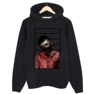 HH - Allame Hannibal Siyah Cepsiz Hoodie (Fırsat ürünü)