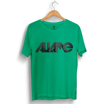HH - Allame Tipografi Yeşil T-shirt (Seçili Ürün)