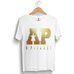 Outlet - HH - Anıl Piyancı A.P. Gold Edition Beyaz T-shirt (Seçili Ürün)