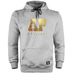 HH - Anıl Piyancı A.P. Gold Edition Cepli Hoodie - Thumbnail