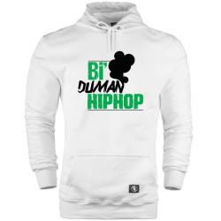 HH - Anıl Piyancı Bi Duman HipHop Cepli Hoodie - Thumbnail