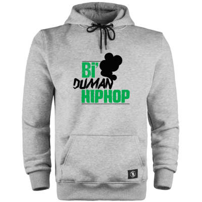 HH - Anıl Piyancı Bi Duman HipHop Cepli Hoodie