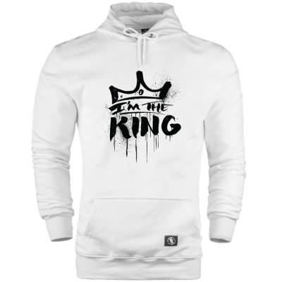 HH - Anıl Piyancı I Am The King Cepli Hoodie