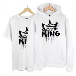 HH - Anıl Piyancı I Am The King Cepli Hoodie + T-shirt Paketi - Thumbnail