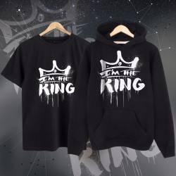 Anıl Piyancı - HH - Anıl Piyancı I Am The King Cepli Hoodie + T-shirt Paketi