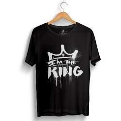 HH - Anıl Piyancı I Am The King Siyah T-shirt (Seçili Ürün)