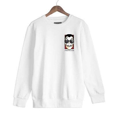 HH - Anıl Piyancı Profesör Beyaz Sweatshirt (Fırsat Ürünü)