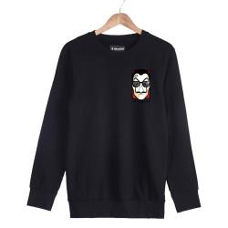 Anıl Piyancı - HH - Anıl Piyancı Profesör Siyah Sweatshirt