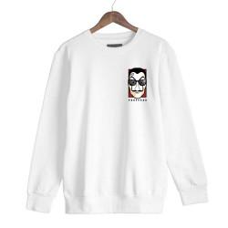 Anıl Piyancı - HH - Anıl Piyancı Profesör Beyaz Sweatshirt