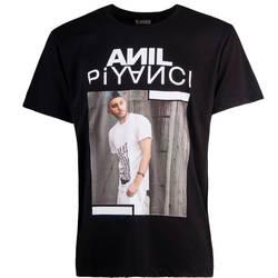 Outlet - HH - Anıl Piyancı Siyah T-shirt (Seçili Ürün)