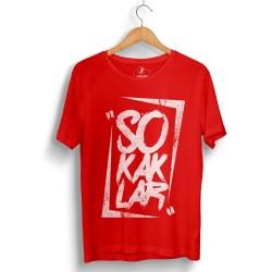 HH - Anıl Piyancı Sokaklar Kırmızı T-shirt (Seçili Ürün) - Thumbnail