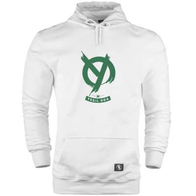 HH - Anıl Piyancı Yeşil Oda Cepli Hoodie