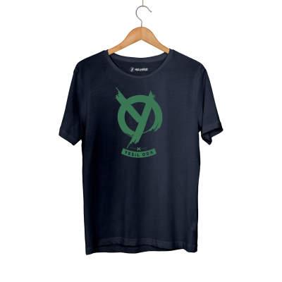 HH - Anıl Piyancı Yeşil Oda Lacivert T-shirt (Seçili Ürün)