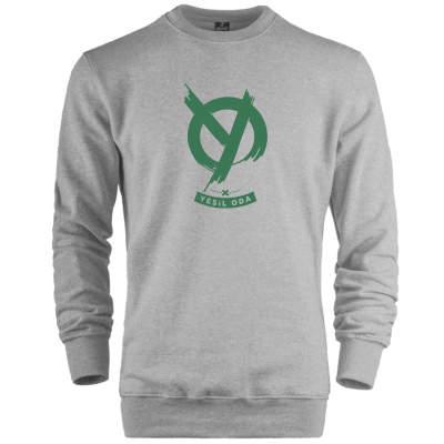HH - Anıl Piyancı Yeşil Oda Sweatshirt